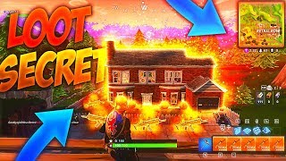 THIS MAISON WILL OFFER you the BEST LOOT on FORTNITE: Battle Royale!! (SECRET)