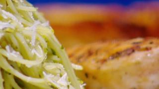 اڤوكادو بيستو باستا مع الدجاج - ديما حجاوي وسناء زايد