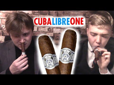 CUBA LIBRE ONE - CIGAR REVIEW!!