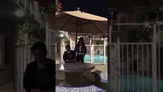 MIchael surprise an Indian crazy fan at Los Angeles Hotel