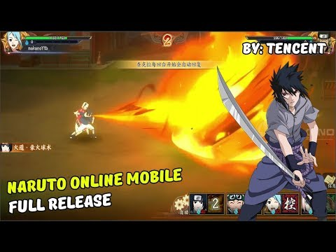 Naruto Online Mobile New Naruto Games Android Full Release By Tencent Games