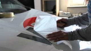 Werbewehr Folienbeschriftung Auto