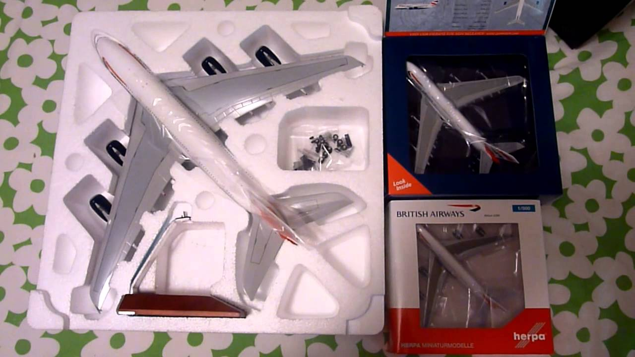 Difference between 1/200, 1/400 and 1/500 scale diecast airplanes - RW  Hobbies