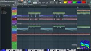 How to Bounce MIDI Tracks to Audio in FL Studio 12