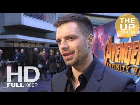 Sebastian Stan interview at Avengers Infinity War premiere in London