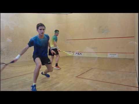 Finale de l'Open National de Toulouse. Aubert bat Crouin
