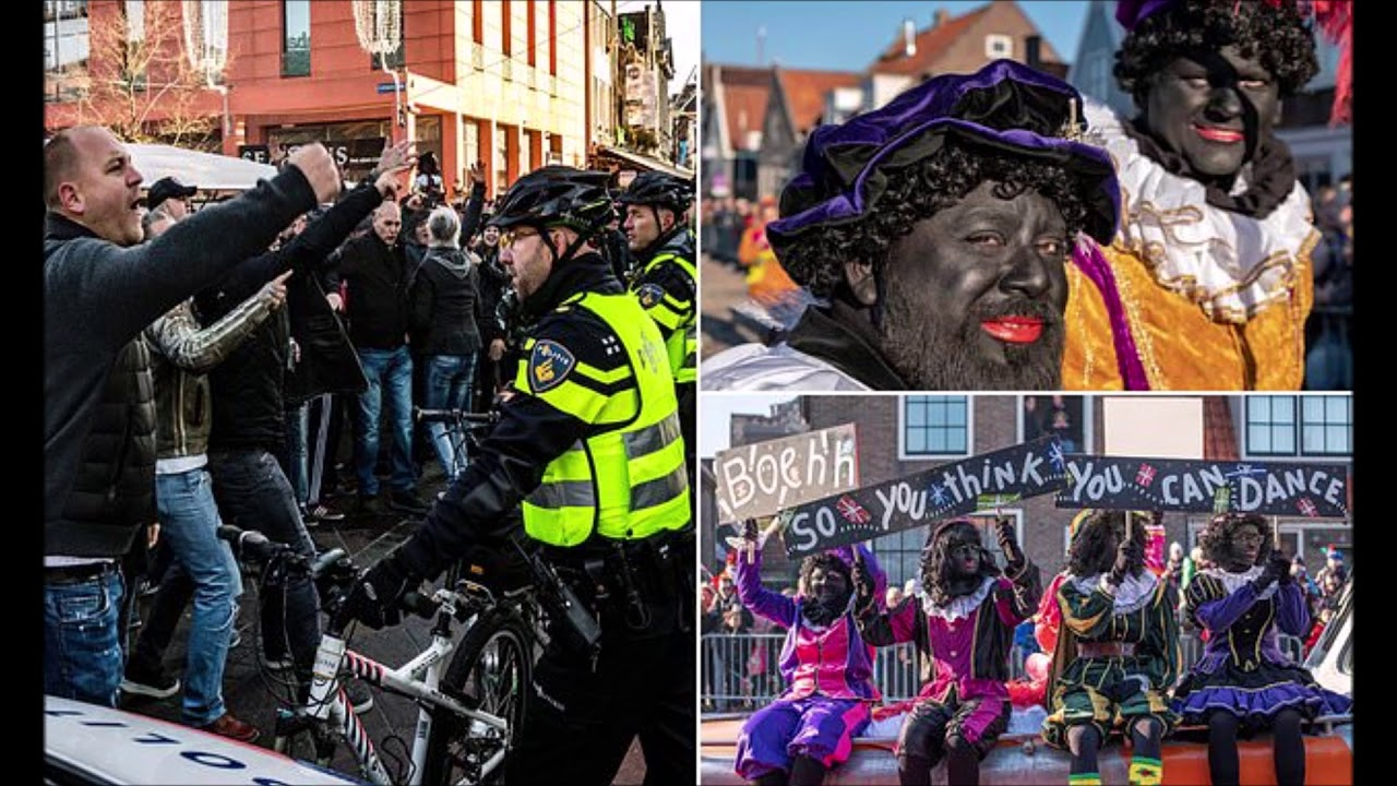 Violence Erupts In The Netherlands Over Controversial Holiday Character Black Pete