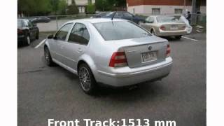 2004 Volkswagen Bora Variant 1.8T Specification, Technical Details