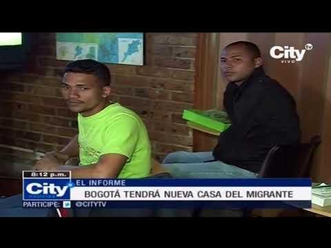 Crean casa para recibir a los venezolanos migrantes en Bogotá | City Tv