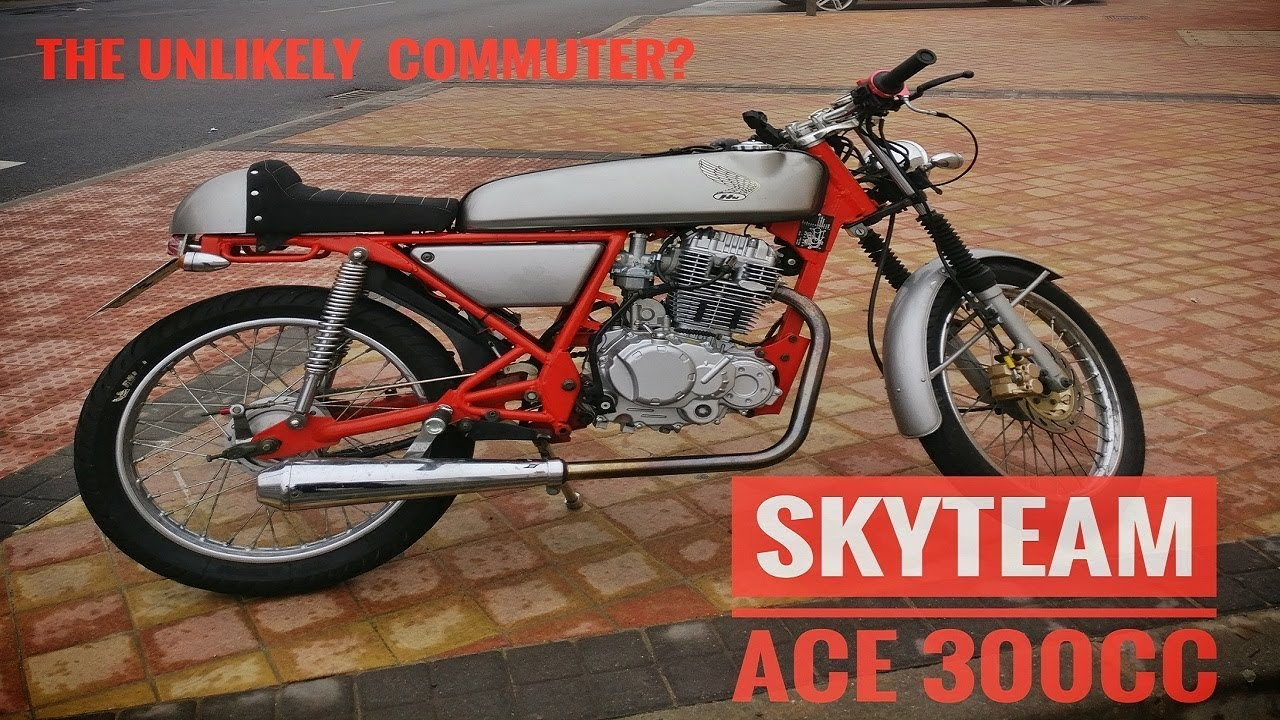 skyteam ace commute 300cc swapped ace 125 youtube. Black Bedroom Furniture Sets. Home Design Ideas