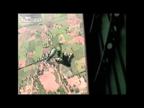 Thai paratrooper fatal accident