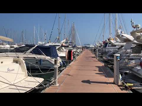 Cambrils, Spain Yacht club