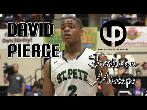 6'1 David Pierce- Freshman Season Mixtape! Guard with Handles and a Smooth Stroke