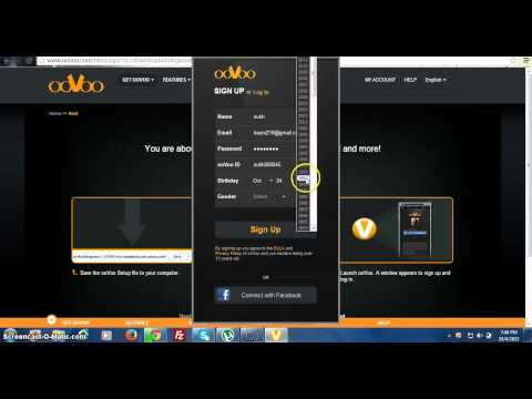 How To Download And Use OoVoo