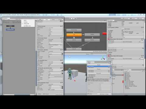 ART258: Part 10 -- Character programming in Unity 5 with Playmaker