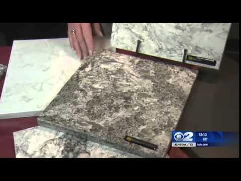 Honey Do On Channel 2: Cobble Creek Countertops  Granite Vs.