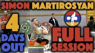 Simon Martirosyan (105) - Power Snatch, Clean & Jerk, + Back Squat (April 12)