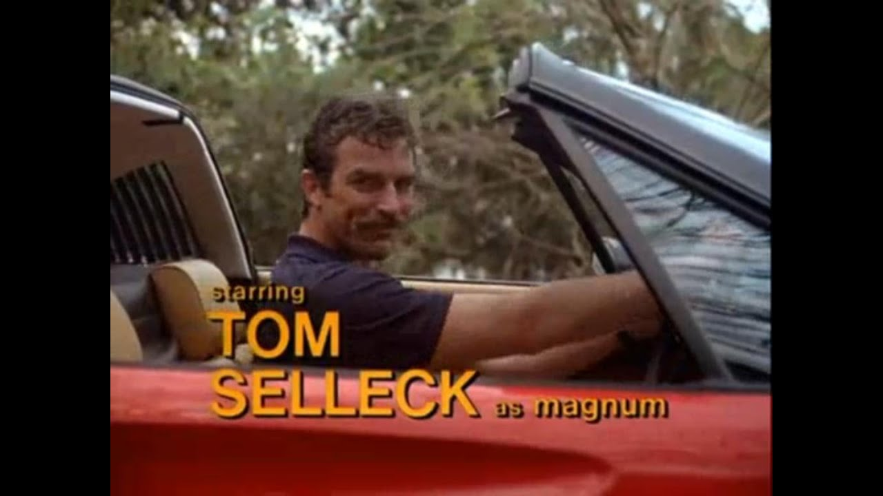Magnum, P.I.  Intro Theme  | American crime drama television series starring Tom Selleck (1980)