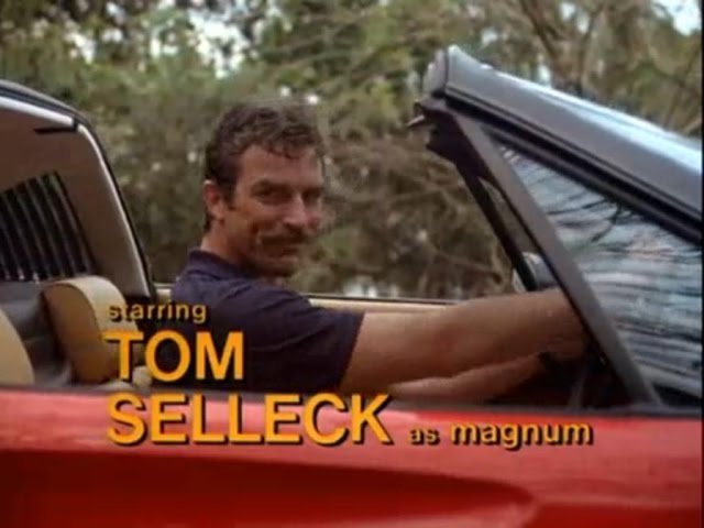 Image result for tom selleck magnum pi""