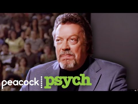 Guest Stars: Tim Curry | Psych