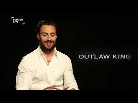 Aaron Taylor-Johnson talks Outlaw King | London Live