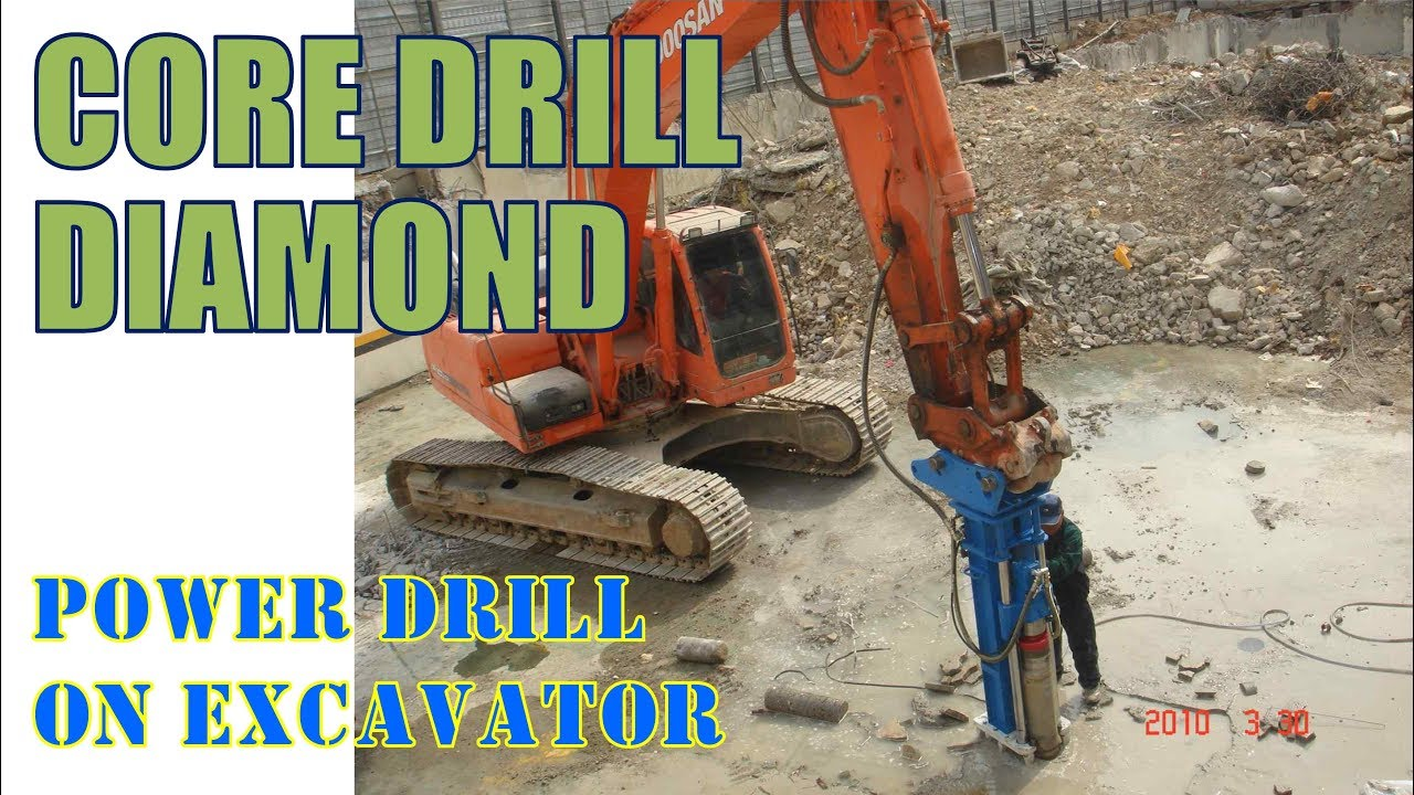 Core Drill Rock Drilling Rig Akcd 1000 Series Youtube