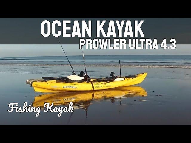 Fishing Kayak - Ocean Kayak Prowler Ultra 4.3 Fishing Kayak - GoPro