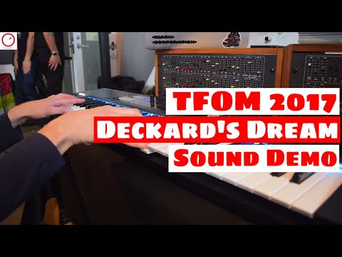 Tokyo Festival Of Modular 2017: Deckard's Dream SYNTHESIZER Sound Demo