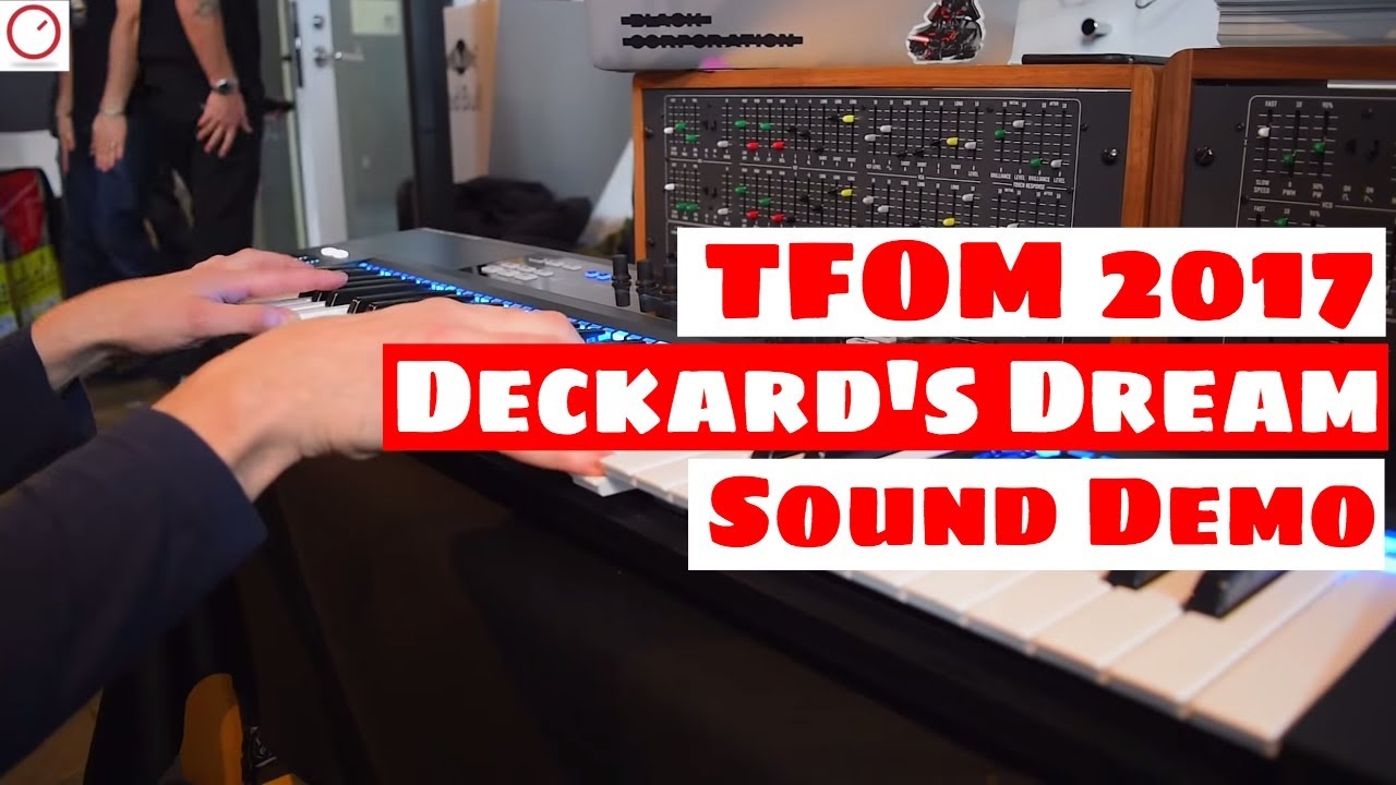 tokyo festival of modular 2017 deckard 39 s dream synthesizer sound demo synth anatomy youtube. Black Bedroom Furniture Sets. Home Design Ideas