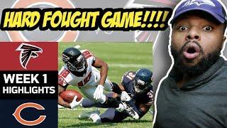 Falcons vs. Bears | NFL Week 1 Game Highlights Reaction