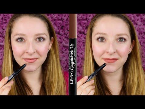 NYX Lip Lingerie Push-Up Long-Lasting Lipstick Swatch & Review | Bedtime Flirt