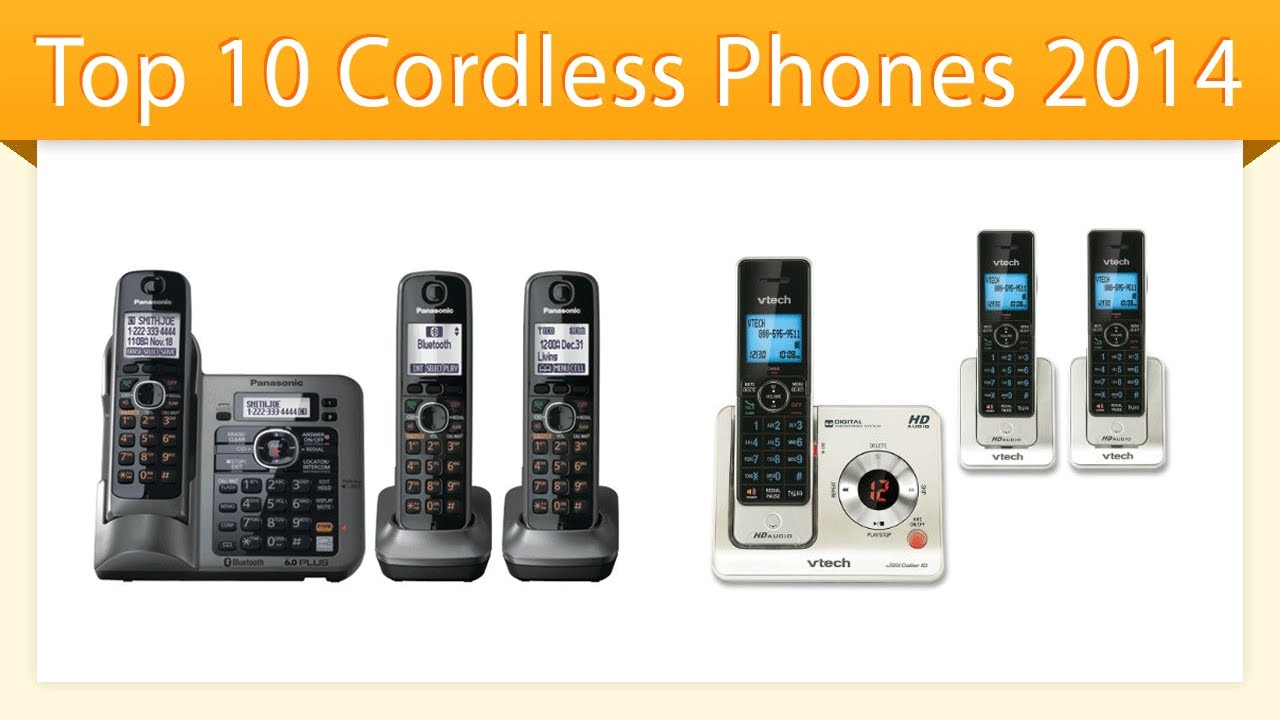 Top 10 Cordless Phones 2014 | Best Cordless Phone Review - YouTube