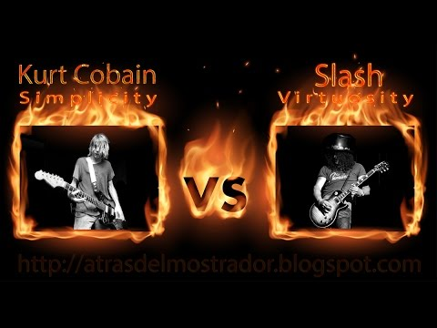 Kurt Cobain VS Slash - Simplicity or Virtuosity?  The best solos Mp3