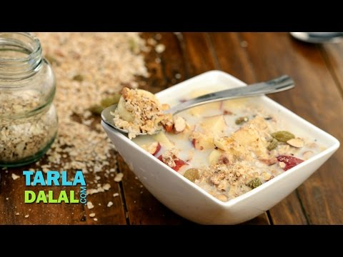 Muesli (Healthy Breakfast) by Tarla Dalal