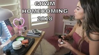 homecoming grwm