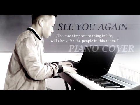 Wiz Khalifa ft. Charlie Puth - See You Again (piano cover by Ducci, lyrics)