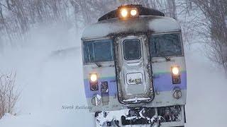 さようなら!最後の183系100番台 特急「オホーツク」走行集 / JR北海道