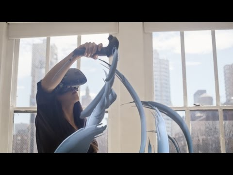Tilt Brush Artist in Residence