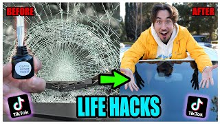 We TESTED Viral TikTok Life Hacks.... (CAN'T BELIEVE IT WORKED) *PART 12*