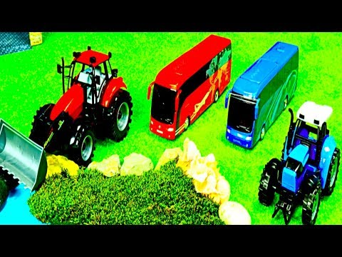 Traktor Kinder, Helikopter, Super Wings, Krankenwagen, Bus, LKW, Lego Duplo Spielzeug für Kinder