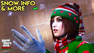 GTA Online: SNOW RELEASE TIME, NEW CAR & MORE FESTIVE SURPRISE 2017 INFO!