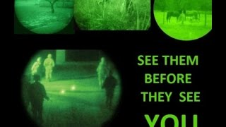 Night Vision 101 for Preppers, Hunters on a Budget (part 1 of 3)