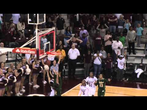 Courtney Williams Game-Winning 3-Pointer Vs Mississippi State