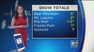 Amber Lee's Weather Forecast (Jan. 20)
