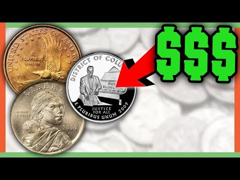 Thumbnail: RARE ERROR COINS WORTH MONEY - VALUABLE COINS IN CIRCULATION!!