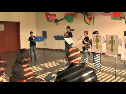 Trompetenquartett am KSEW 2007