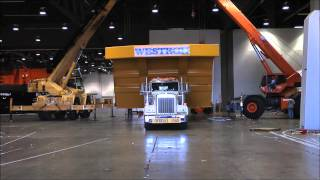 Heavy Haulers move massive dumptruck parts