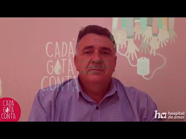 Depoimento do Amilcar - Campanha 'Cada Gota Conta'