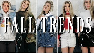 TRENDY FALL OUTFIT IDEAS 2017   LOOKBOOK