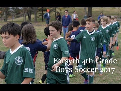 2017 Forsyth School (St. Louis, Missouri)  4th Grade Boys Soccer Highlights